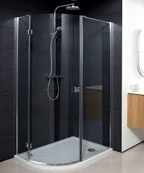 glass pivot shower door simpsons design quadrant single hinged shower door uk bathrooms