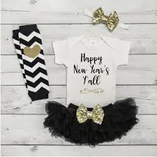new year baby clothes new years for baby girl black and gold new year s