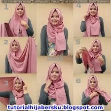 tutorial hijab pashmina tanpa dalaman ninja tutorial hijab pashmina kekinian simple dan mudah terbaru 2017