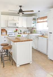 diy painted rustic kitchen cabinets 10 fab farmhouse kitchen makeovers where they painted the