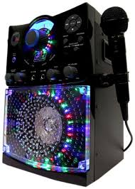singing machine with disco lights old model singing machine sml 385 top loading cdg karaoke system