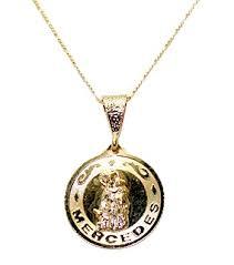 mercedes jewelry amazon com virgen de las mercedes our of mercedes 18k gold