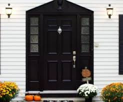 home door stylish black front doors change your house s curb appeal