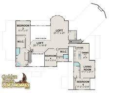 Log Home Floor Plans Golden Eagle Log And Timber Homes Floor Plan Details Big Sky 9870al