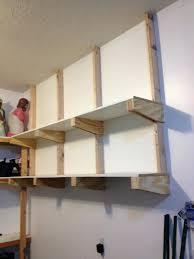 wall shelves at lowes image of diy garage shelves hanginglowes wall mounted shelving