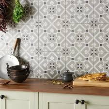 Kitchen Tile Ideas Modern Tiles Aluminum Tile Silver Mix Modern Pattern Kitchen