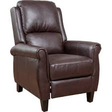 recliner with wood arms wayfair