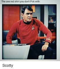 Scotty Meme - scotty redshirt meme the t shirt