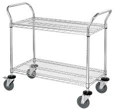 Wire Shelf Cart Assembly Instructions By Omega Products Corp