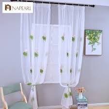 compare prices on green white curtains online shopping buy low