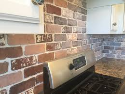 brick kitchen backsplash kitchen brick kitchen backsplash fresh do it yourself brick veneer