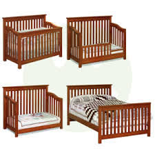Convertable Baby Crib Maddon 4 In 1 Convertible Baby Crib Made In Usa Baby Eco Trends