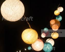 string lights cotton balls fairy lights bedroom home decor