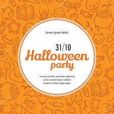 Free Halloween Invitation Templates Printable by Halloween Potluck Invitation Templates Virtren Com