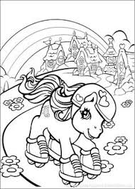 pony coloring pages print free printable