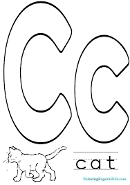 coloring pages for letter c letter c coloring pages coloring pages for kids letter c coloring