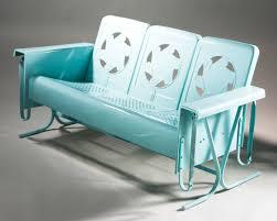 Retro Garden Chairs Bench Walmart Patio Glider Chair Stunning Outdoor Glider Bench