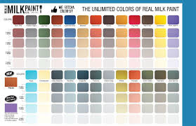 Paint Color Palette Generator by Learn To Mix Milk Paint Classic Color Combinations