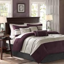 Purple Ruffle Comforter Purple Comforters Bedding Bed U0026 Bath Kohl U0027s