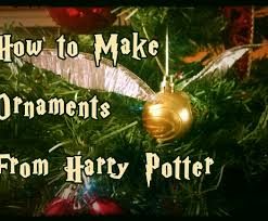 to make harry potter ornaments