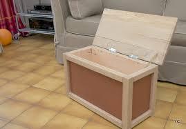 fabriquer meuble cuisine soi meme a faire soi même fabriquer un coffre à jouets une méthode simple
