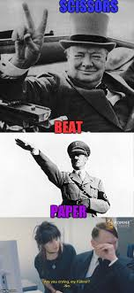 Just Girly Things Meme Generator - hitler imgflip