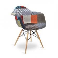 life interiors dubai replica eames dsw style patchwork armchair