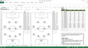 Inventory List Excel Template Soccer Roster Free Excel Template Excel Templates For Every Purpose