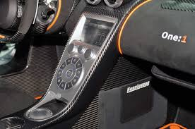 koenigsegg one 1 interior an ultra exclusive one off koenigsegg one 1 prototype is on sale