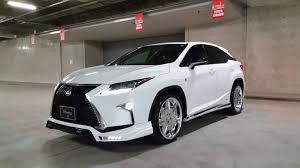 toyota lexus sports car lexus rx f sport with rowen body kit has quad exhaust autoevolution