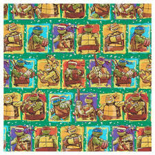 tmnt wrapping paper mutant turtles gift wrap wrapping paper christmas