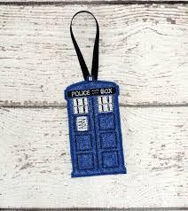 phone box ornament ith embroidery design matt s crib