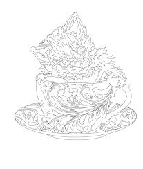 elegant tea party coloring book coloring books tea parties and teas