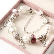 glass beads pandora bracelet images 925 silver string beads pandora bracelet bangle ashlays jpeg