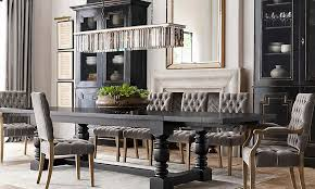 Meletio Lighting Amazing Restoration Hardware Dining Room Table 69 For Small Home