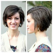 best short hairstyle for round face 18 short hairstyles for winter most flattering haircuts popular