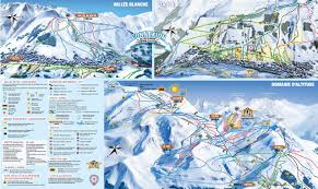 Photo Map Bergfex Skigebiet Les 2 Alpes Skiurlaub Les 2 Alpes