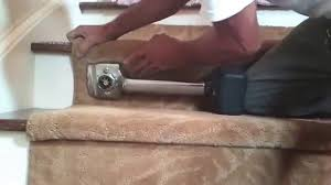 installing a stair runner the right way youtube