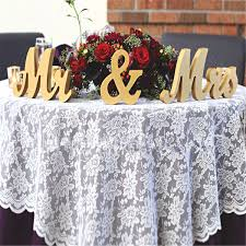 aliexpress com buy gold wooden mr u0026 mrs standing letters wedding
