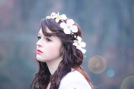 flower hair wedding hair crown flower hair band flower hair crown dogwood
