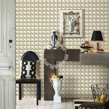 3d Wallpaper Interior Wallpaper Pattern Milky 3d Diamond Furniture U0026 Decoration For