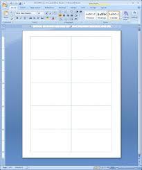 microsoft office business card template create print business