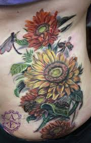 sunflower tattoos page 2