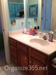 organizing bathroom ideas organizing kid s bathroom organize 365