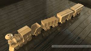 wooden toy plans free train