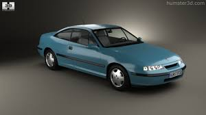 opel calibra 360 view of opel calibra 1990 3d model hum3d store