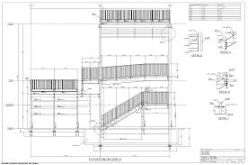 example elevation drawing tekla user assistance
