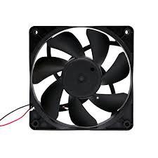 high cfm case fan protechnic120mm x 25mm high airflow 117 cfm 3300rpm w 3 pin