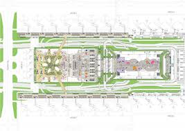 terminal floor plan taipei taoyuan airport terminal contract awarded public realm plan