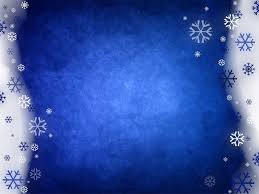 snowy blue abstract powerpoint templates blue christmas white